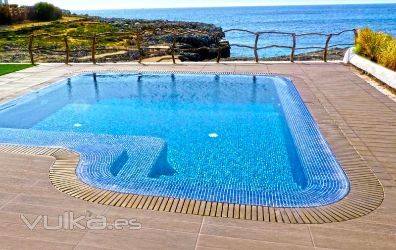Foto construcci n de piscina piscina de obra for Precio construccion piscina obra