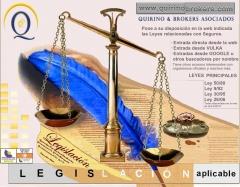 Quirino & broker´s - legislación aplicable a los seguros privados ( muy importante saberla )