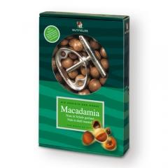 Macadamia tostada en C�scara, 500g + Cascanueces.