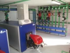 Centrales de agua caliente sanitraria para residencias, hospitales