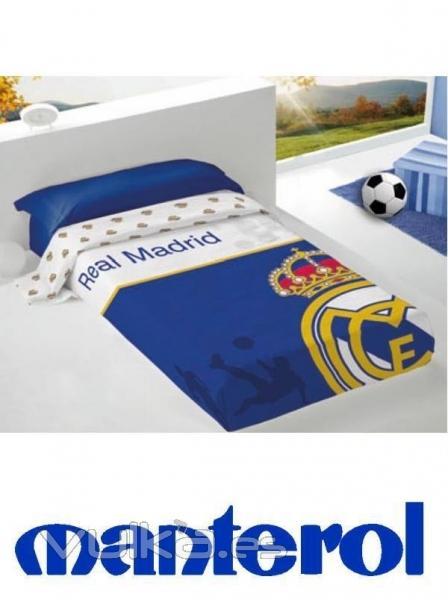 Foto juego de cama real madrid for Juego de real madrid