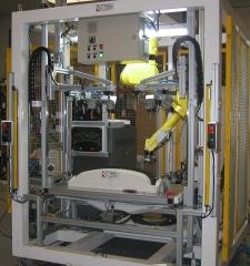 Colocación clips con robot y soldadura por ultrasonidos