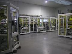 Taller con celulas robot
