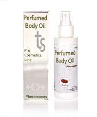 Aceite perfumado con feromonas aroma a fresa. 125ml de puro placer para los sentidos