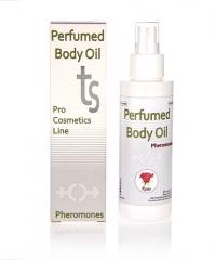 Aceite perfumado con feromonas aroma a rosas. 125ml de puro placer para los sentidos