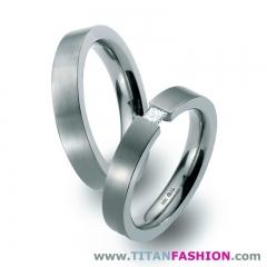 Aliazas de boda en titanio