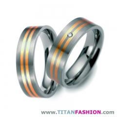 Anillos de boda de titanio