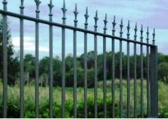 Valla metalica para cercar propiedad