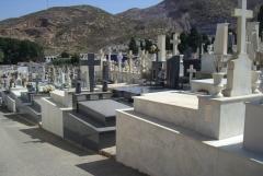 Vistas de sepulturas