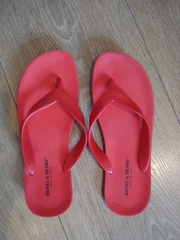 Chanclas henry & henry (italia) color rojo tallas 35