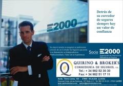 Quirino brokers - detrás de su corredor e2000 hay un valor de confianza, garantías e información.