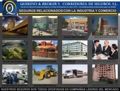 Quirino brokers - seguros que comercializamos relacionados con la industria y empresas, etc.