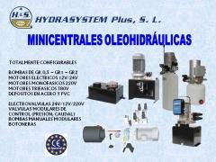 Minicentrales oleohidraulicas