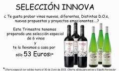 Reciba en su domicilio esta selección de 6 vinos por sólo 53 euros!