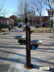 Fuentes dobles para beber en Azuqueca de Henares(Guadalajara)