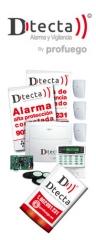 Alarmas dtecta de alta proteccion en lugo