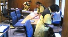 Limpieza y mantenimiento de oficinas y empresas.
