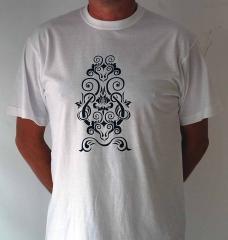 Camiseta con estampaci�n en vinilo