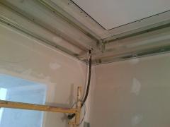 Instalando pladur para proyecto de iluminacion