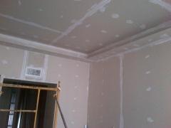 Pladur en paredes y techo con foseado