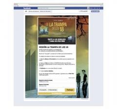 Creatividad y dise�o aplicaci�n Facebook para Random House Mondadori