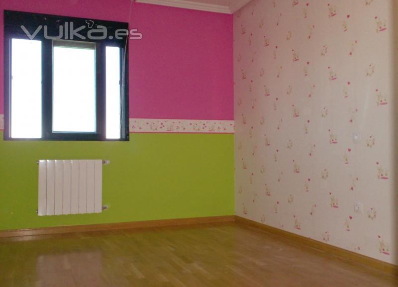 Pintura y decoraci n la fontana dec - Como pintar una pared ya pintada ...