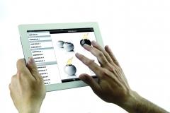 Catálogo digital para hacer pedidos con ipad