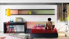 Original dormitorio juvenil apto para cualquier espacio con muebles life box