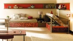 Mueble juvenil life box con una fresquita combinacion de colores