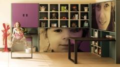 Dormitorio juvenil con la aplicacion de las fotos que quieras en los muebles