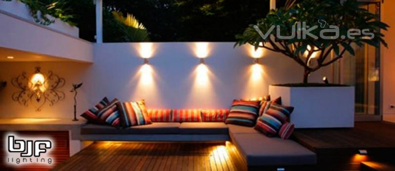 Foto iluminaci n led para terrazas for Luces de exterior para terrazas