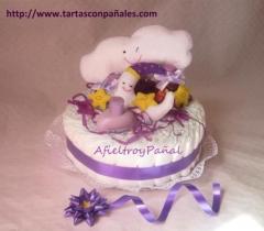 14.tartas con pa�ales. dulces sue�os. afieltroypa�al