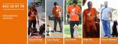 Educadores y paseadores caninos en alicante, badajoz, castellón, granada y zaragoza