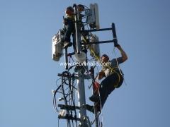 Instalaci�n de antenas wimax.