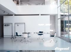 Muebles en diagonal. mobiliario integral de oficina. diseño y ejecución del proyecto.