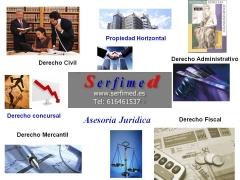 Derecho civil, mercantil y administrativo en serfimed