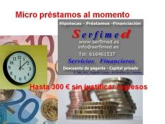 Micro préstamo Serfimed