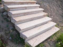 Escaleras en piedra