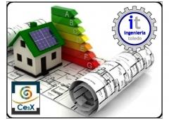 Certificado de eficiencia energética de viviendas y edificios.