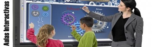 Venta online de material para aulas interactivas pizarras proyectores