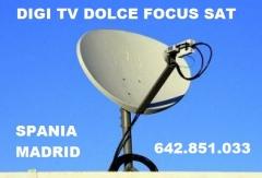 MONTARI ANTENE PARABOLICE DIGI TV DOLCE SATELIT
