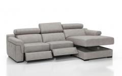 Sofa modelo enzo de piel confort