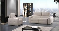 Sofa modelo aston de piel confort