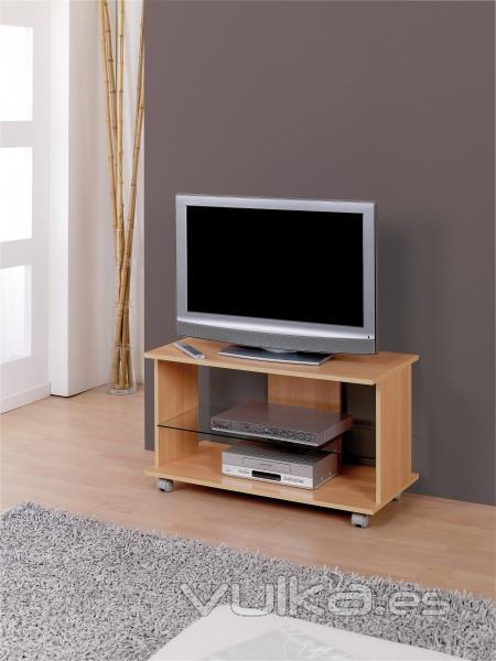 Foto mesa para tv con ruedas for Muebles para tv con ruedas