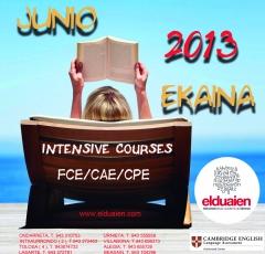 Cursos intensivos de junio para ex�menes cambridge
