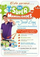 Talleres de manualidades con Jordi Cruz