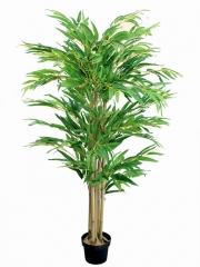 Bambu artificial pequeño con 5 cañas 120 Bambus artificiales oasis decor