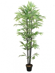 Bambu artificial con ca�as negras arboles artificiales oasis decor