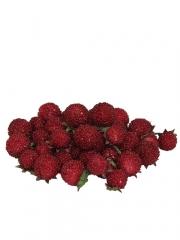 Moras artificiales rojas frutas artificiales oasis decor