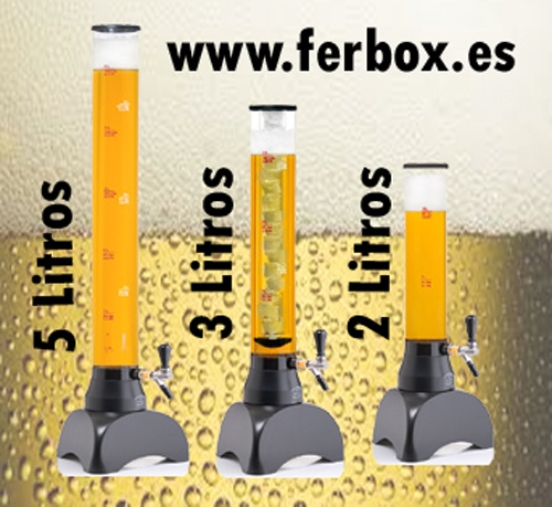 Jirafas2, 3 y 5 litros para terrazas